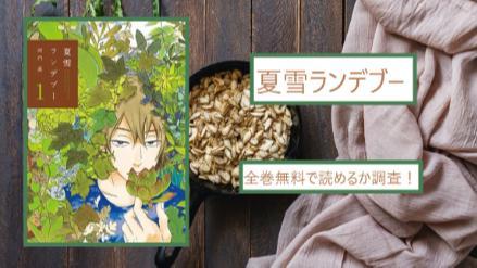 【夏雪ランデブー】全巻無料(1~5巻)で漫画を読める?スマホアプリでも画像