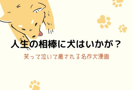 おすすめ犬漫画ランキングベスト15!癒し系から涙モノまで 画像