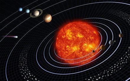 5分でわかる太陽系!惑星の順番/距離/特徴や、はじまりと最期を解説!画像