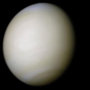 5分でわかる金星の特徴!大きさや温度、大気、自転などをわかりやすく解説!画像