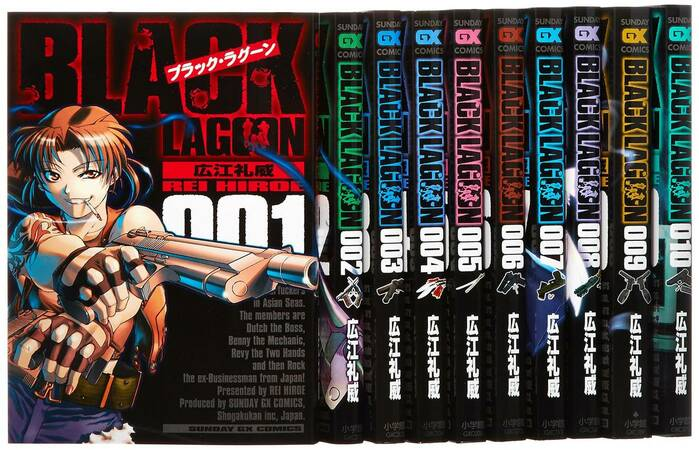 漫画「ブラックラグーン」11巻までの名言を厳選してネタバレ紹介!