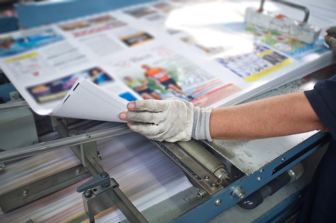 5分で分かる印刷業界!最近の動向・事業内容や推移について